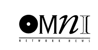 mark for OMNI NETWORK NEWS, trademark #74629135