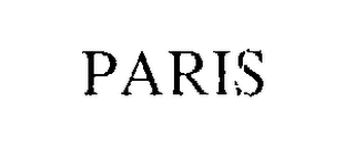 mark for PARIS, trademark #74653425