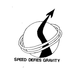 mark for SPEED DEFIES GRAVITY, trademark #74716564
