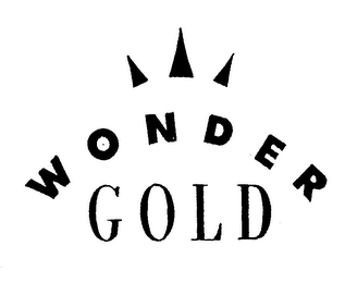 mark for WONDER GOLD, trademark #75009179
