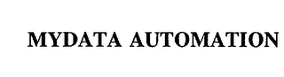 mark for MYDATA AUTOMATION, trademark #75024399