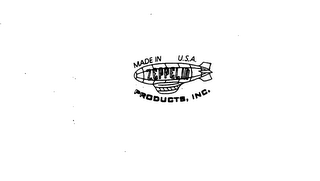 mark for ZEPPELIN PRODUCTS, INC. MADE IN U.S.A., trademark #75041054