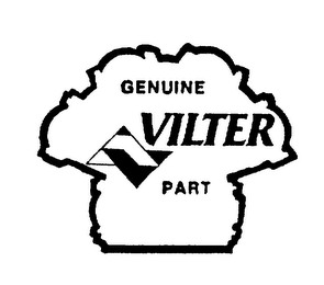 mark for GENUINE VILTER PART, trademark #75060837