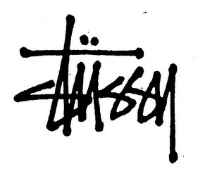 mark for STUSSY, trademark #75077688