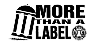 mark for MORE THAN A LABEL OFFICIALLY LICENSED COLLEGIATE PRODUCTS, trademark #75089997