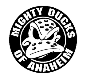 mark for MIGHTY DUCKS OF ANAHEIM, trademark #75101115