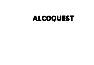 mark for ALCOQUEST, trademark #75119369