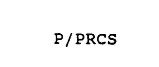 mark for P/PRCS, trademark #75119984
