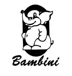 mark for BAMBINI, trademark #75147889