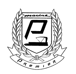 mark for P MARINE PREMIER, trademark #75166760