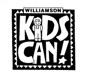 mark for WILLIAMSON KIDS CAN!, trademark #75176463