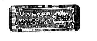 mark for THE OXFORD SET OF MATHEMATICAL INSTRUMENTS COMPLETE & ACCURATE HELIX, trademark #75178940