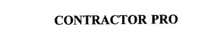 mark for CONTRACTOR PRO, trademark #75185789