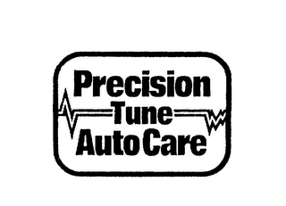 mark for PRECISION TUNE AUTO CARE, trademark #75191634