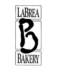 mark for B LABREA BAKERY, trademark #75193856
