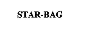 mark for STAR-BAG, trademark #75202540