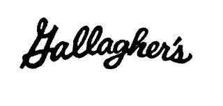 mark for GALLAGHER'S, trademark #75205050