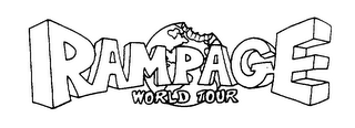 mark for RAMPAGE WORLD TOUR, trademark #75221495