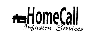 mark for HOMECALL INFUSION SERVICES, trademark #75232374
