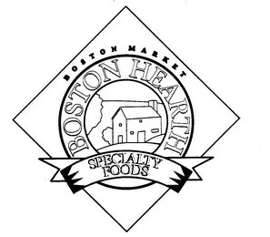 mark for B O S T O N M A R K E T  BOSTON HEARTH SPECIALTY FOODS, trademark #75239487