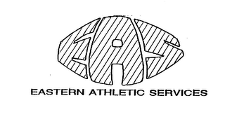 mark for EAS EASTERN ATHLETIC SERVICES, trademark #75249840