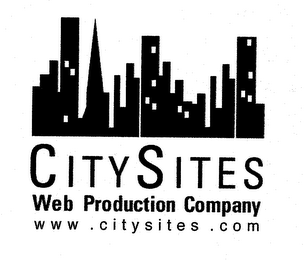 mark for CITYSITES WEB PRODUCTION COMPANY WWW.CITYSITES.COM, trademark #75252772