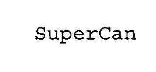 mark for SUPERCAN, trademark #75254610
