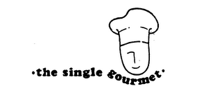 mark for THE SINGLE GOURMET, trademark #75255015