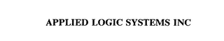 mark for APPLIED LOGIC SYSTEMS INC, trademark #75257805