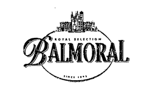 mark for ROYAL SELECTION BALMORAL SINCE 1895, trademark #75275376