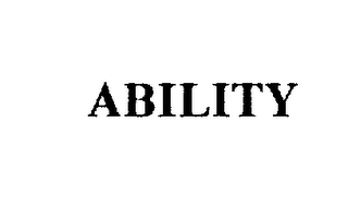 mark for ABILITY, trademark #75275402