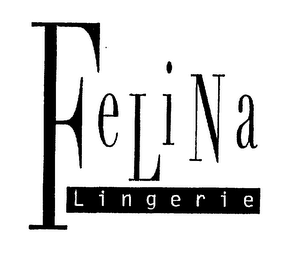 mark for FELINA LINGERIE, trademark #75283879