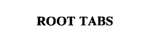 mark for ROOT TABS, trademark #75286106