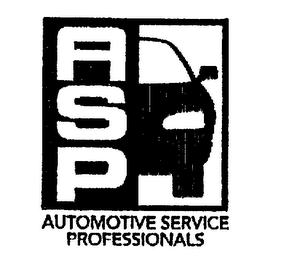 mark for ASP AUTOMOTIVE SERVICE PROFESSIONALS, trademark #75287567