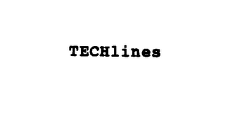 mark for TECHLINES, trademark #75289124