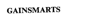 mark for GAINSMARTS, trademark #75298240