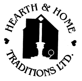mark for HEARTH & HOME TRADITIONS LTD., trademark #75304103