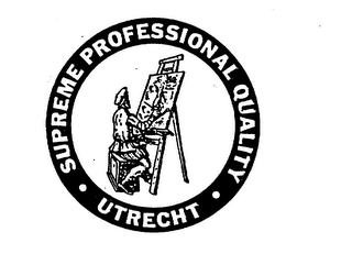 mark for SUPREME PROFESSIONAL QUALITY UTRECHT, trademark #75324049