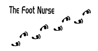 mark for THE FOOT NURSE, trademark #75326597