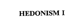 mark for HEDONISM I, trademark #75328865