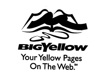 mark for BIGYELLOW YOUR YELLOW PAGES ON THE WEB., trademark #75357657