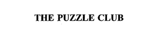 mark for THE PUZZLE CLUB, trademark #75364563