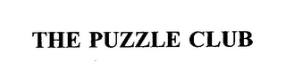 mark for THE PUZZLE CLUB, trademark #75364564