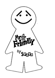 mark for MR FRIENDLY BY SPAPA, trademark #75367023