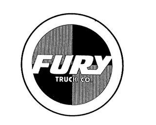 mark for FURY TRUCK CO., trademark #75372134