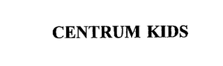 mark for CENTRUM KIDS, trademark #75382445