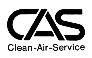 mark for CAS CLEAN-AIR-SERVICE, trademark #75385220