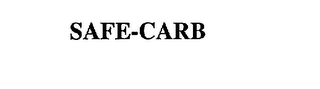 mark for SAFE-CARB, trademark #75385954