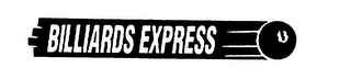 mark for BILLIARDS EXPRESS, trademark #75388586