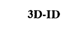 mark for 3D-ID, trademark #75392500